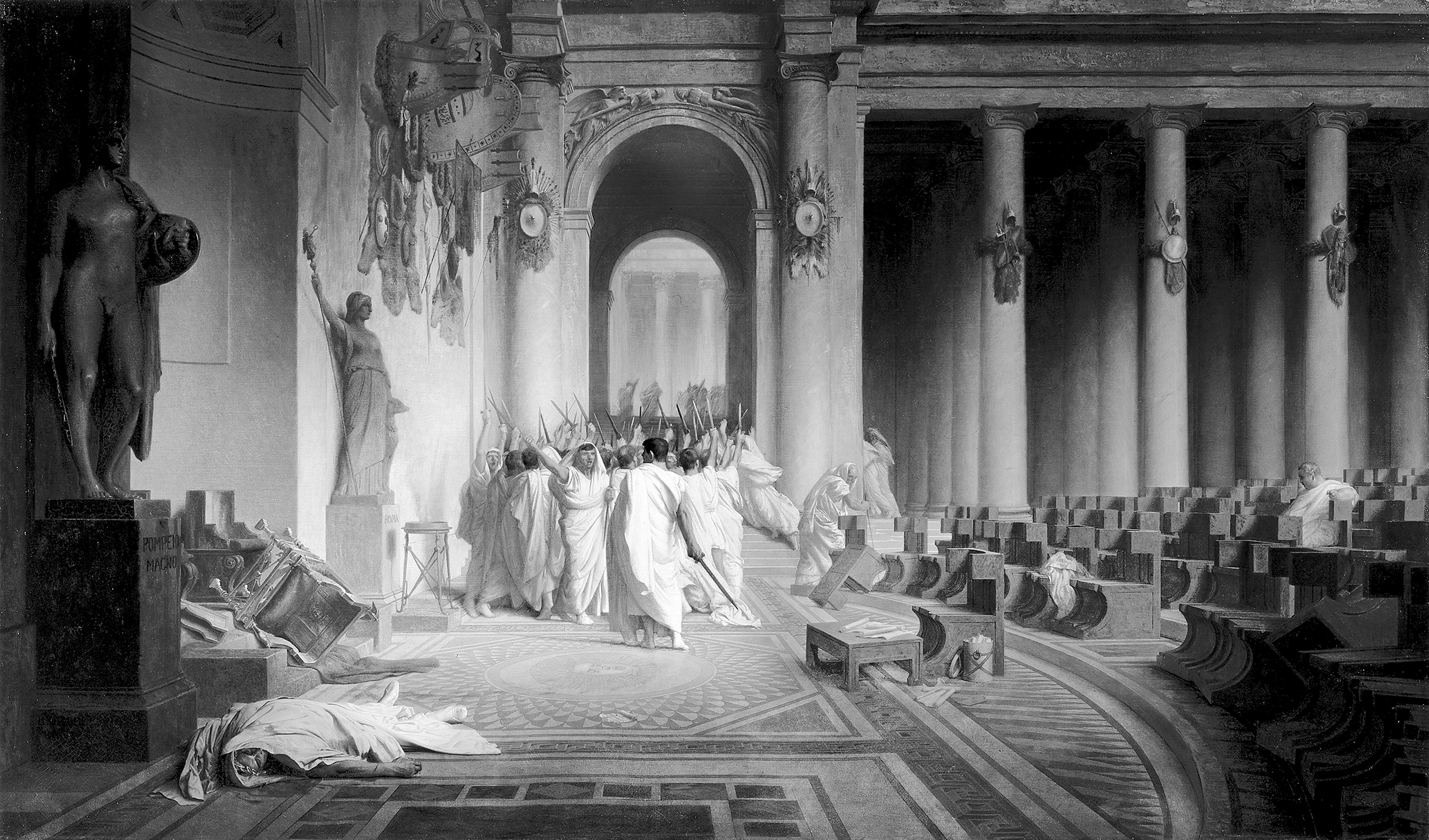 Photographs - The Death of Caesar: The Story of History's Most