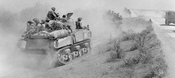 The Far East – British Shermans up the Jungle - Sherman Tank